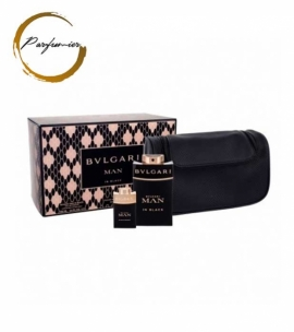Bvlgari Man in Black Set (EDP 100 ml + Orient EDP 10 ml + bag)