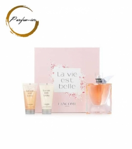 Lancome La Vie Est Belle Set (EDP 50 ml + BL 50 ml + SG 50 ml)