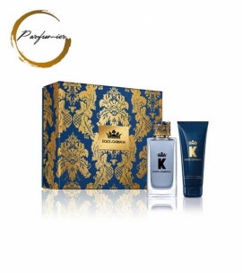 Dolce & Gabbana K by Dolce & Gabbana Set (EDT 100 ml. + ASB 75 ml.)