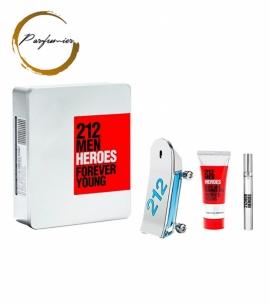 Carolina Herrera 212 Men Heroes Set (EDT 90ml + 10ml + SG 100ml)