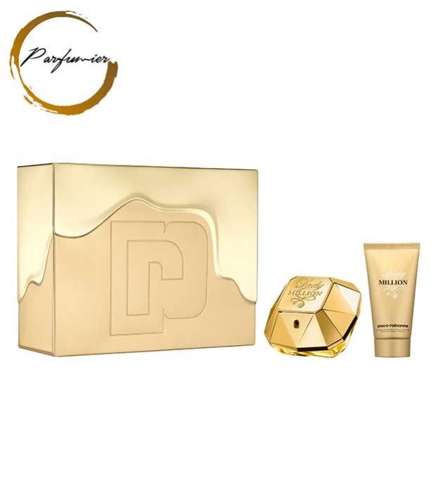 Paco Rabanne Lady Million Set (EDP 50 ml + BL 75 ml)