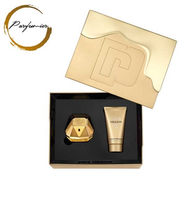 Paco Rabanne Lady Million Set (EDP 50 ml + BL 75 ml)