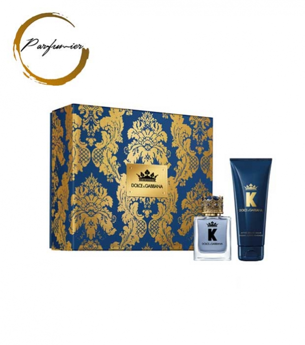 Dolce & Gabbana K by Dolce & Gabbana Set (EDT 50 ml. + ASB 75 ml.)