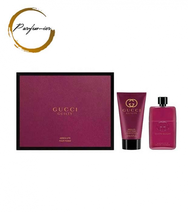 Gucci Guilty Absolute Pour Femme Set (EDP 50 ml + BL 50 ml)