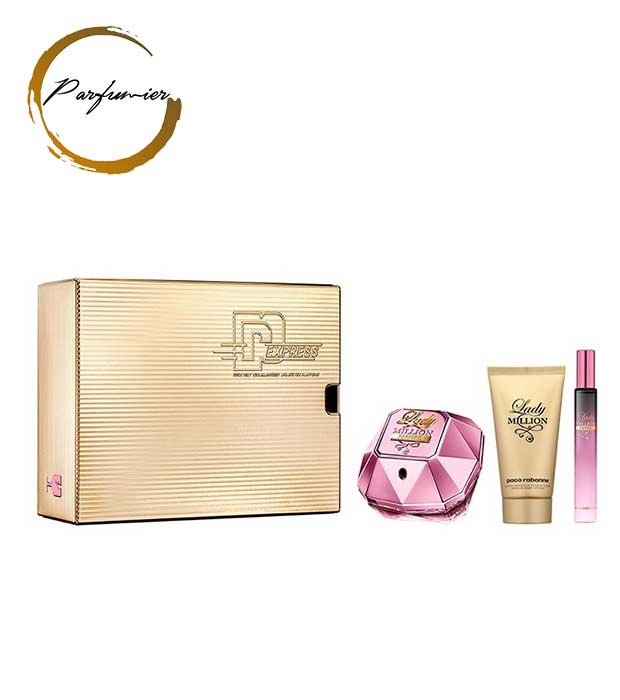 Paco Rabanne Lady Million Empire Set (EDP 50 ml + BL 50 ml + EDP 10 ml)