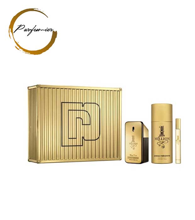 Paco Rabanne 1 Million Set (EDT 50 ml + Deospray 150 ml + EDT 10 ml)