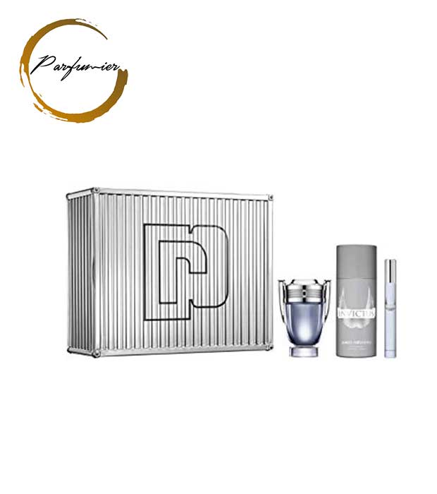 Paco Rabanne Invictus Set (EDT 50 ml + Deospray 150 ml + EDT 10 ml)